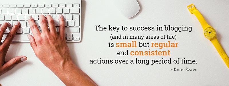 Blogging Success Tip